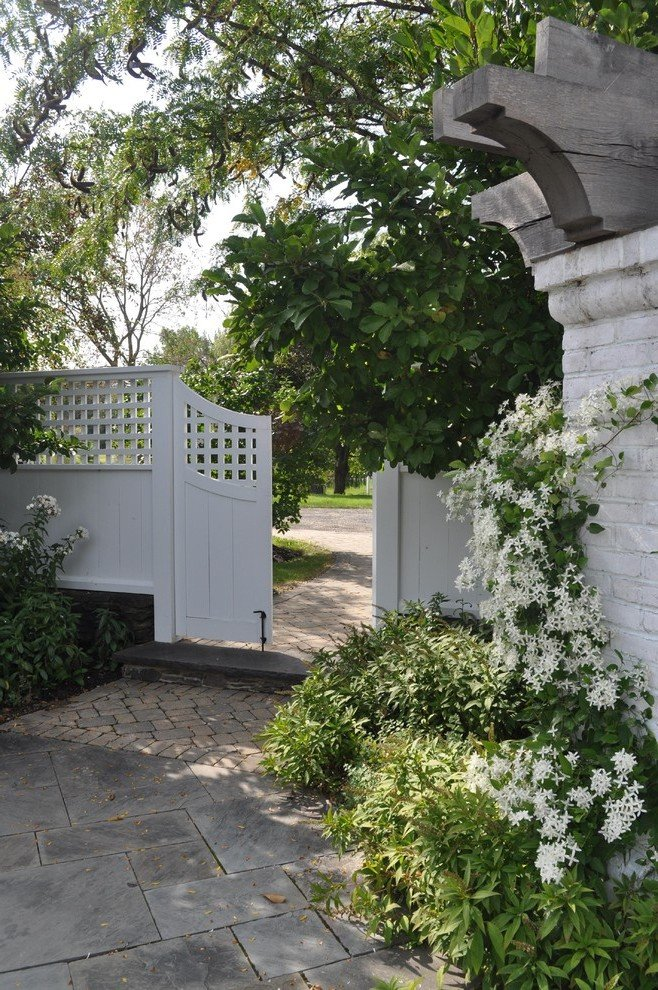Gartenzaun Gartentor
