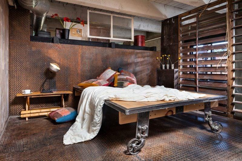 Industrial Möbel - Schlafzimmer industrielle Einrichtung