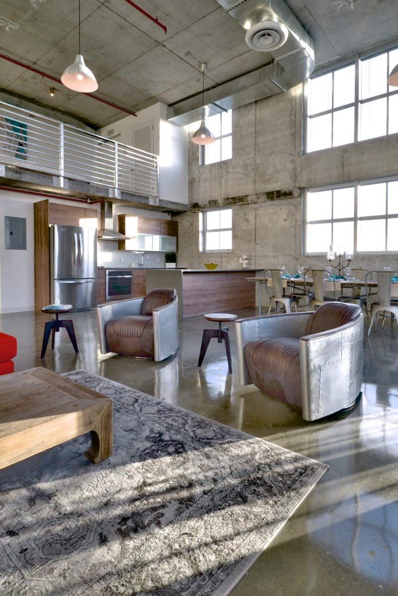Industrial Wohnzimmer Industrial Möbel