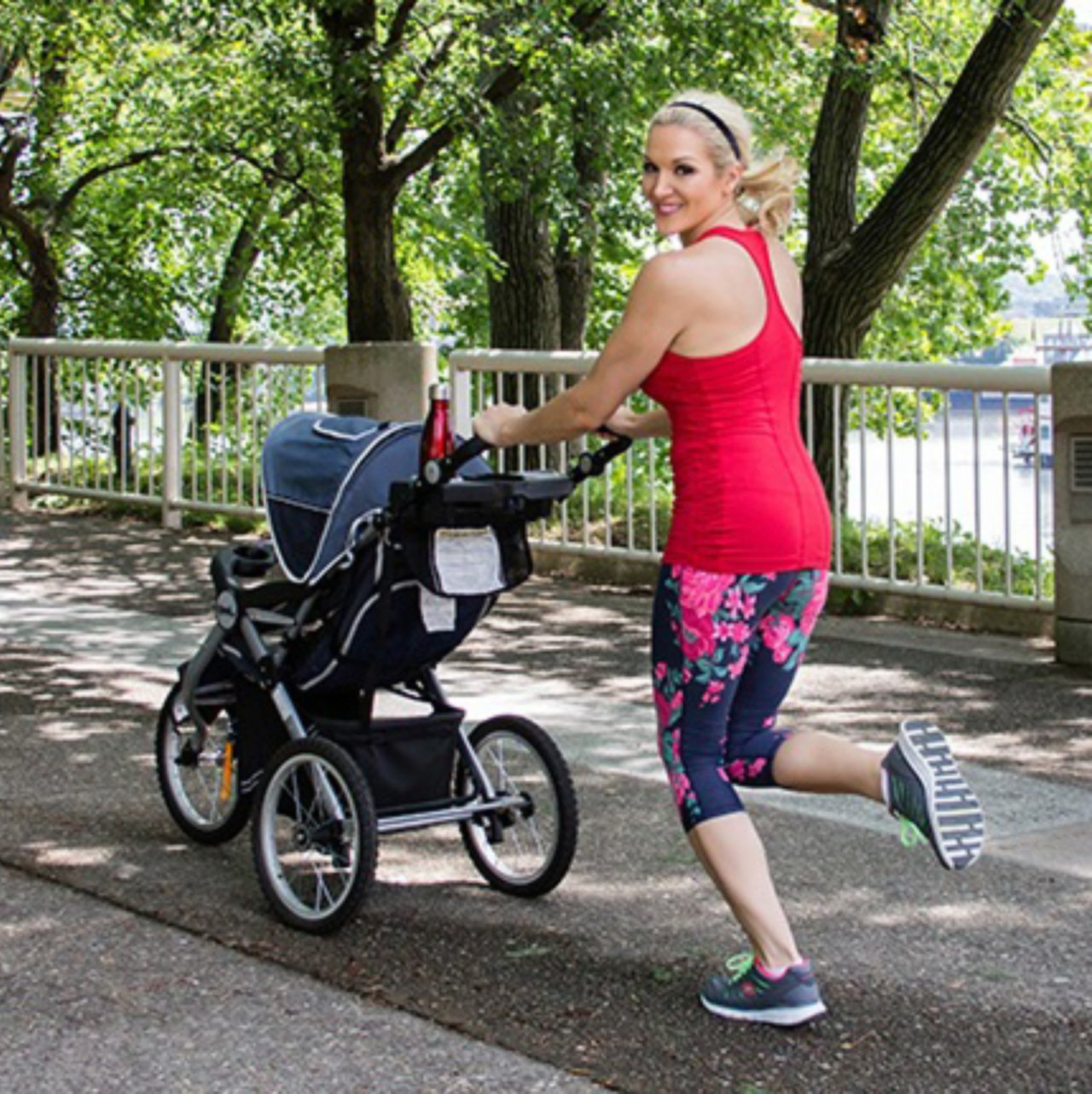 Kalorienverbrauch beim Joggen mit Baby