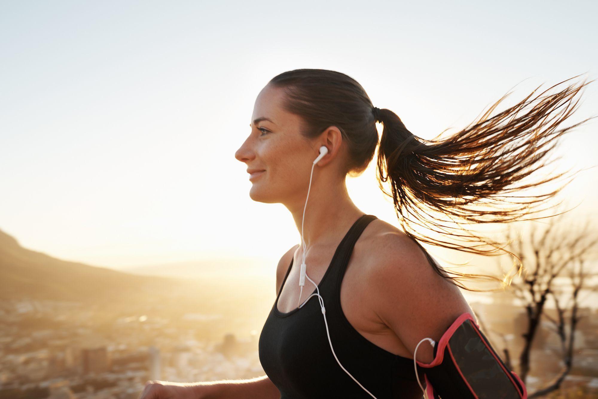 Kalorienverbrauch durch Jogging