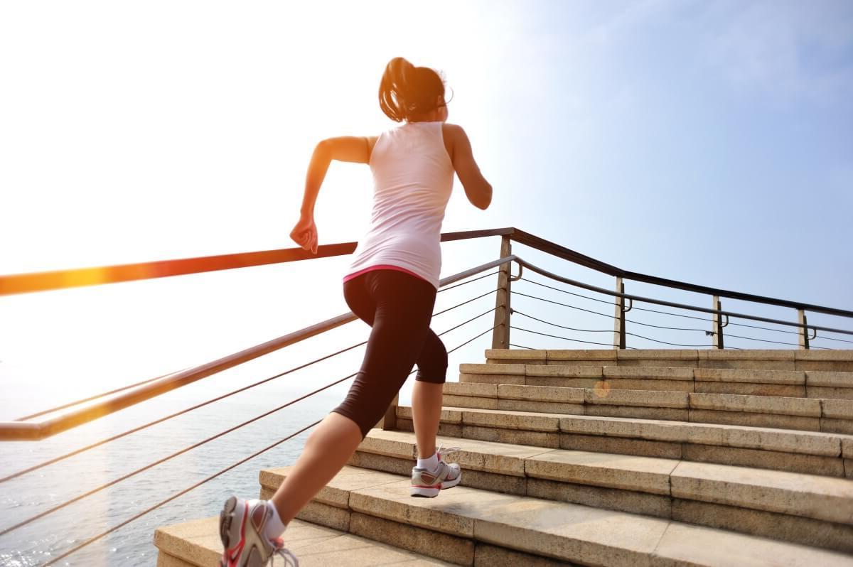 Kalorienverbrauch bei Treppensteigen