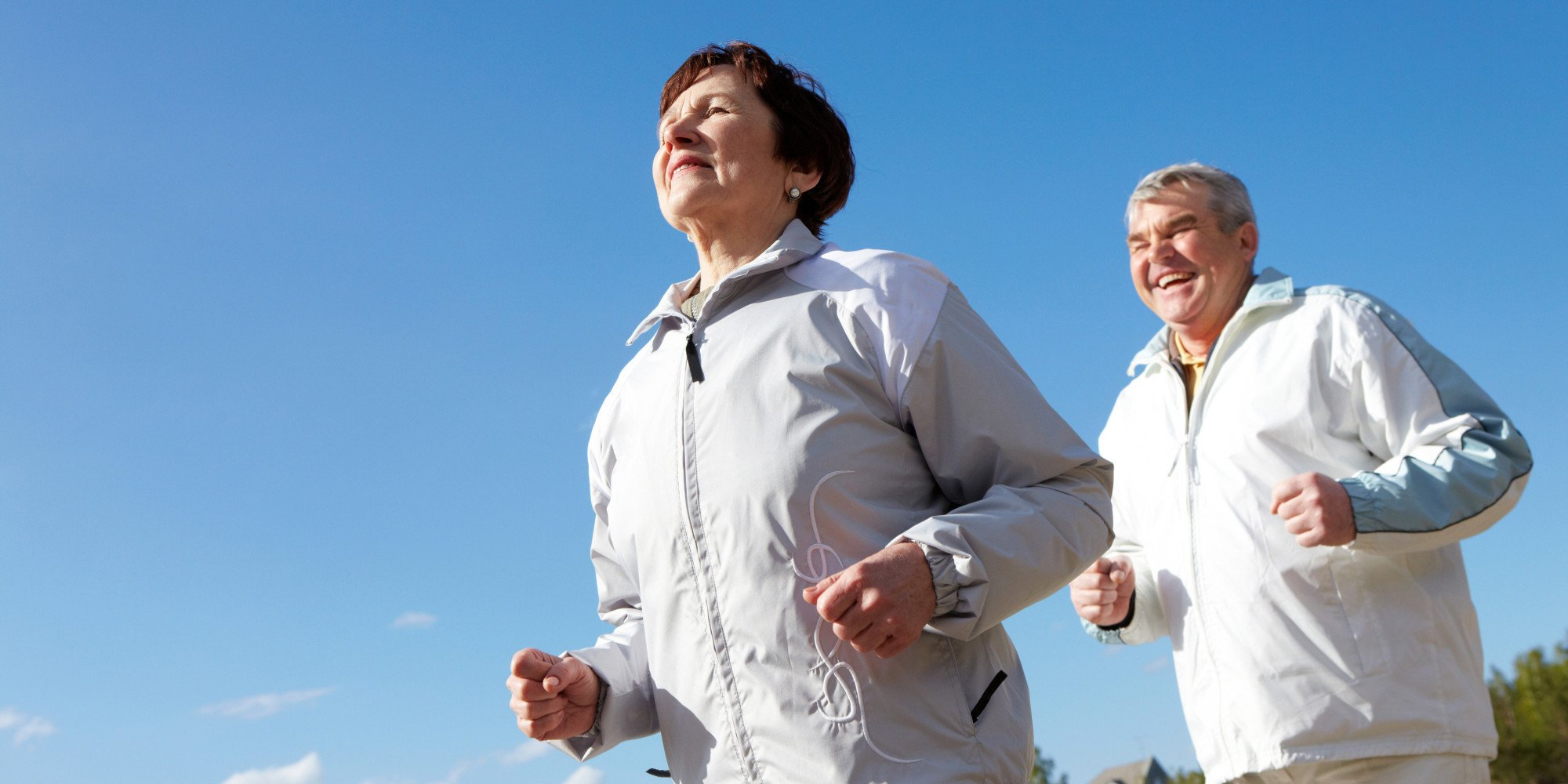 Joggen hält Senioren Fit