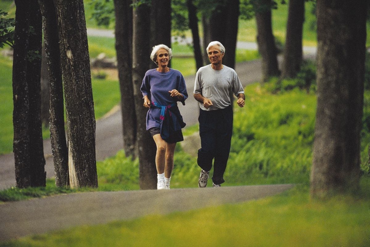 Sport hält alte Leute Gesund