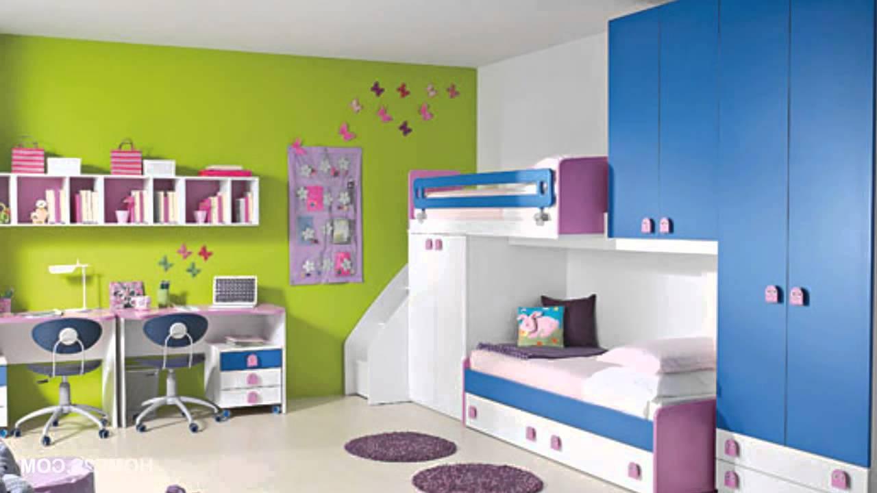 Helles Kinderzimmer mit viel Platz zum spielen