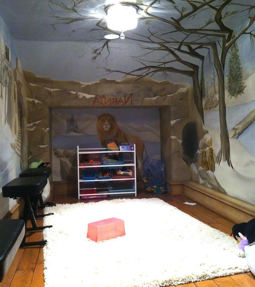 Kinderzimmer Gestaltung - Die Chroniken von Narnia
