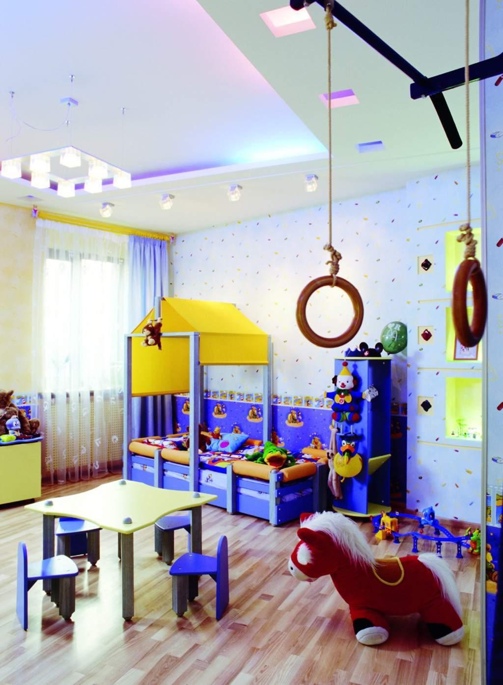 Kinderzimmer Gestaltung für kleinen Jungen