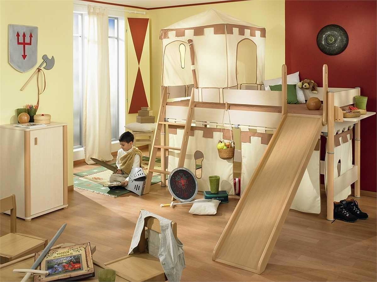 Ritterburg im Kinderzimmer - eine tolle Idee für Jungen