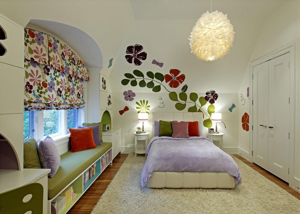 Farben bringen Laune im Jugend- und Kinderzimmer
