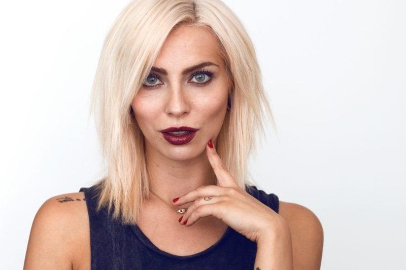 Blondtöne 2016 Platinblond
