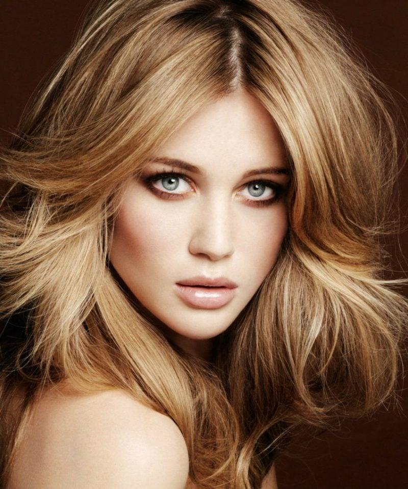 blonde Haare beige Blonde