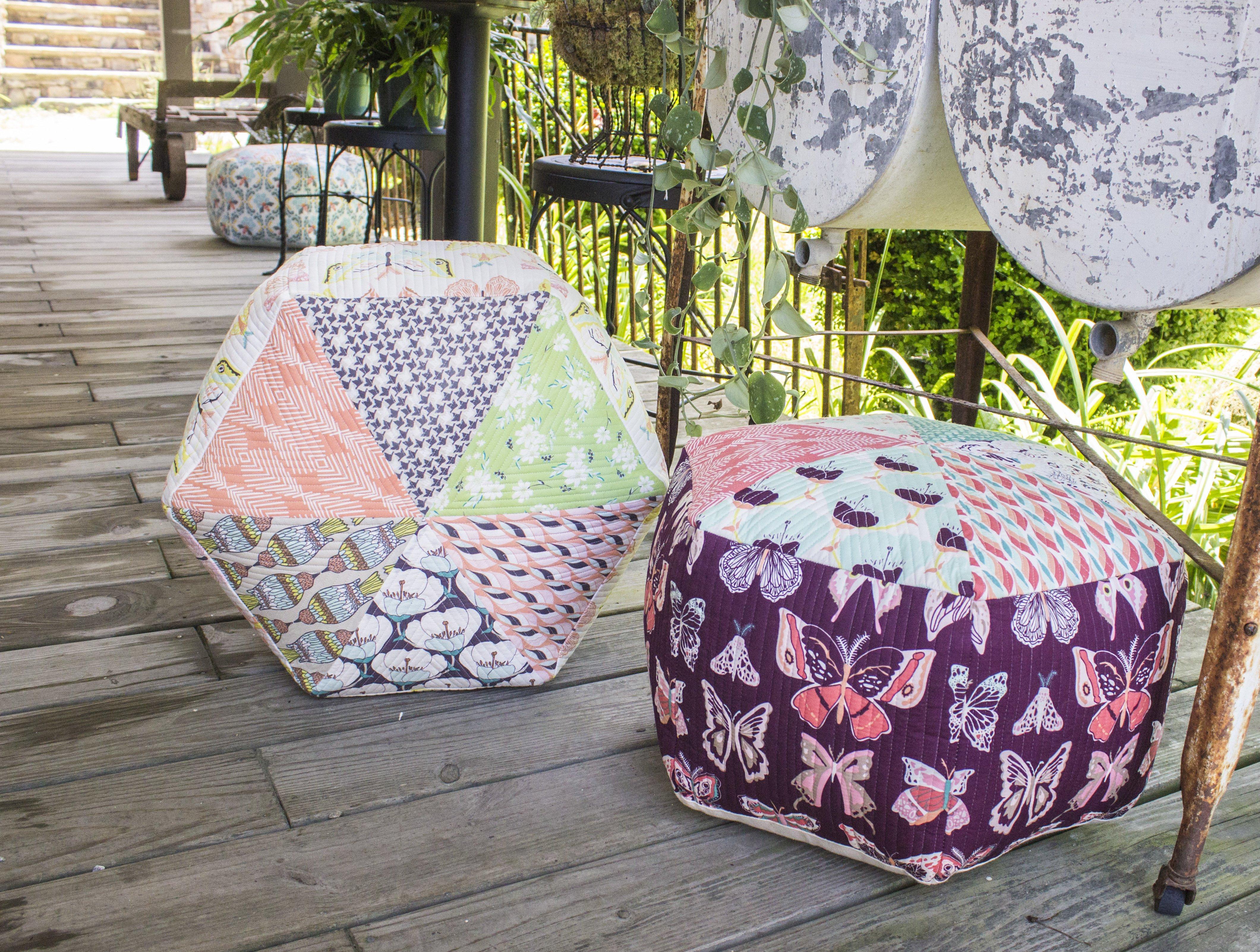 Sitzkissen zum selbernähen, passend für Balkon, Garten und zu Hause
