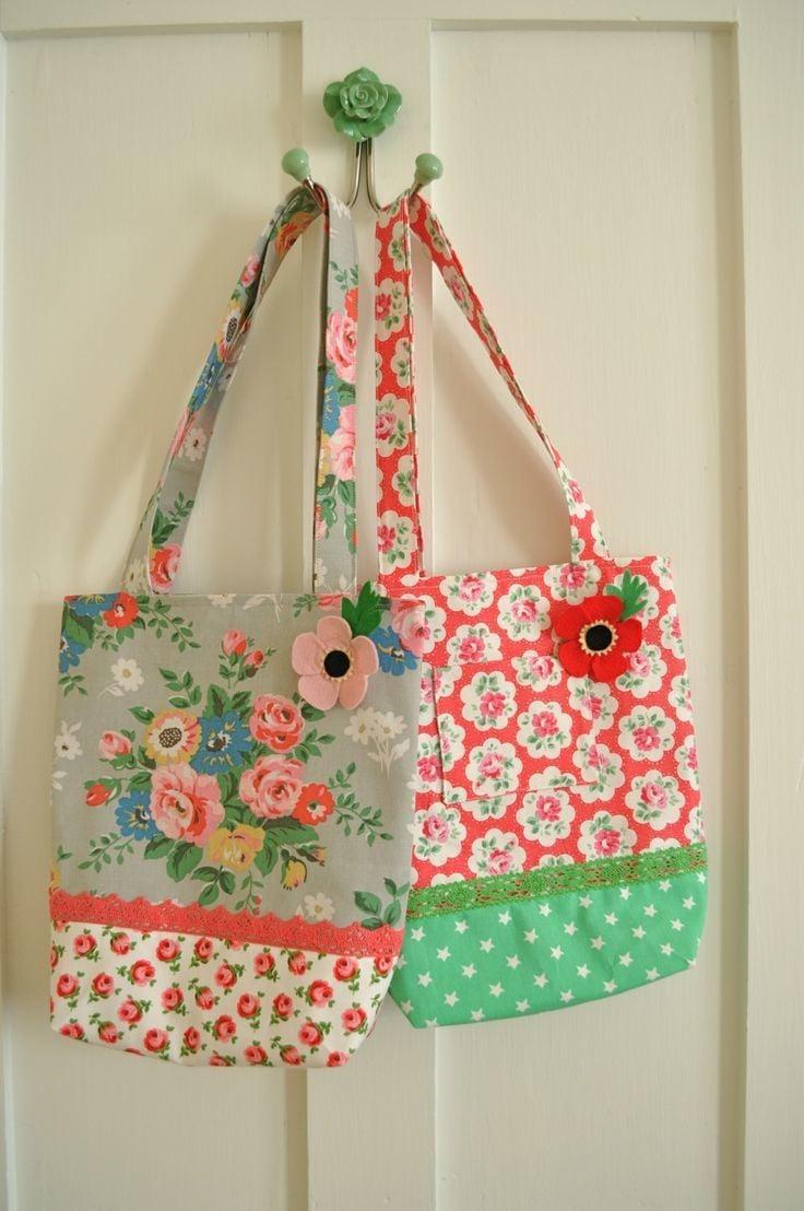 kreaitve Stofftaschen für moderne Frauen