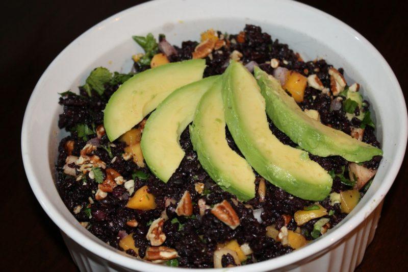 Reis Inhaltsstoffe schwarzer Reis
