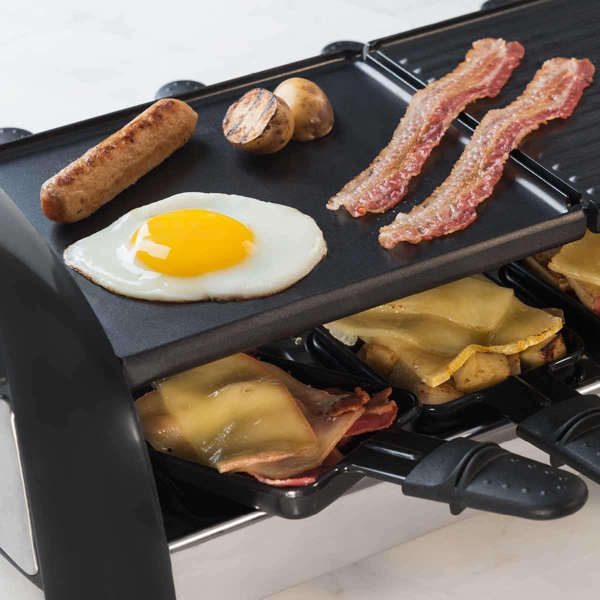 Lecker Essen mit raclette zubereiten
