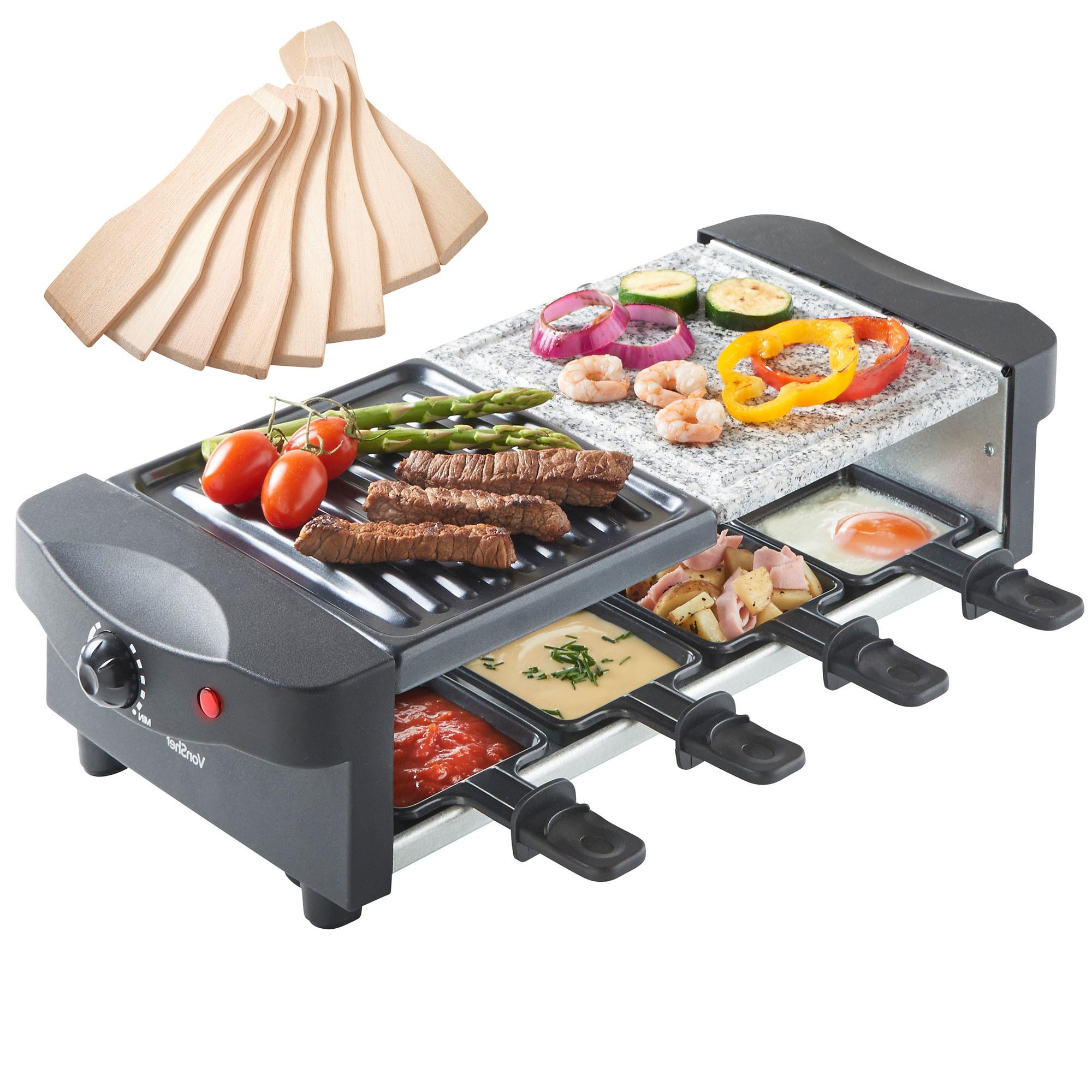 Raclette-grill, passend für jedes Geschmack