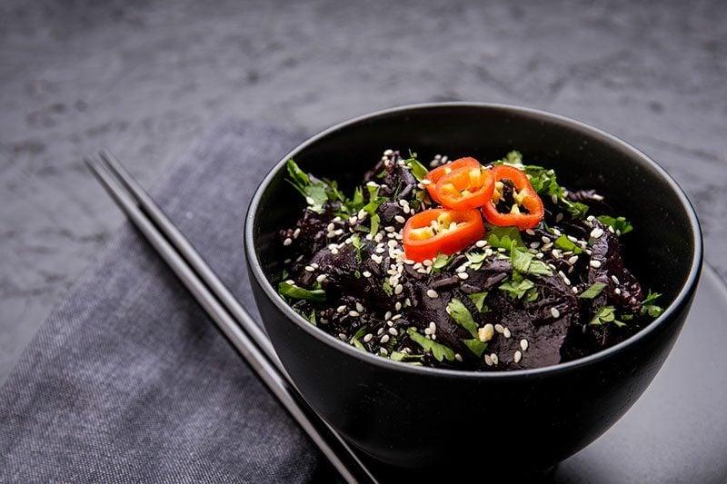 Rezept schwarzer Reis asiatisch