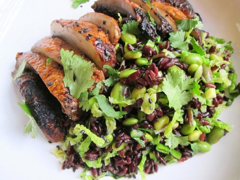Müllers Mühle Rezepte Salat mit schwarzem reis