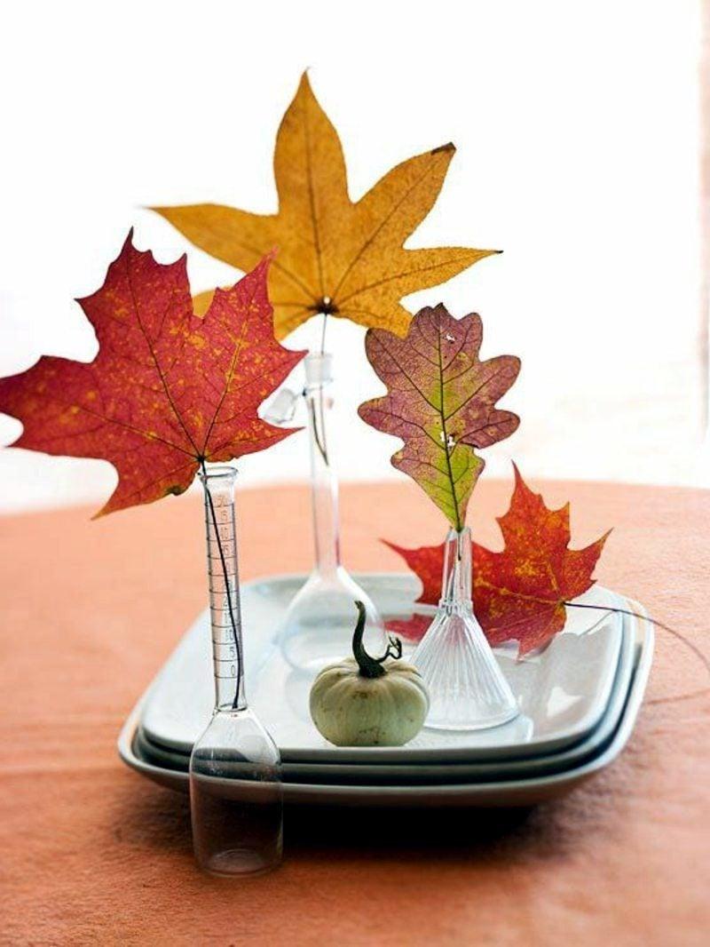 Bilder Herbst Tischdeko Ideen