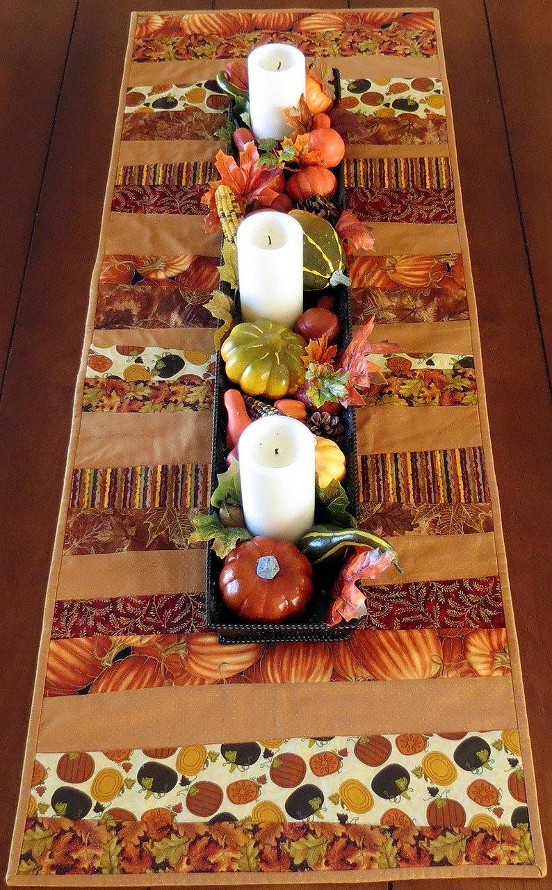 Herbstliche Tischdekoration Ideen