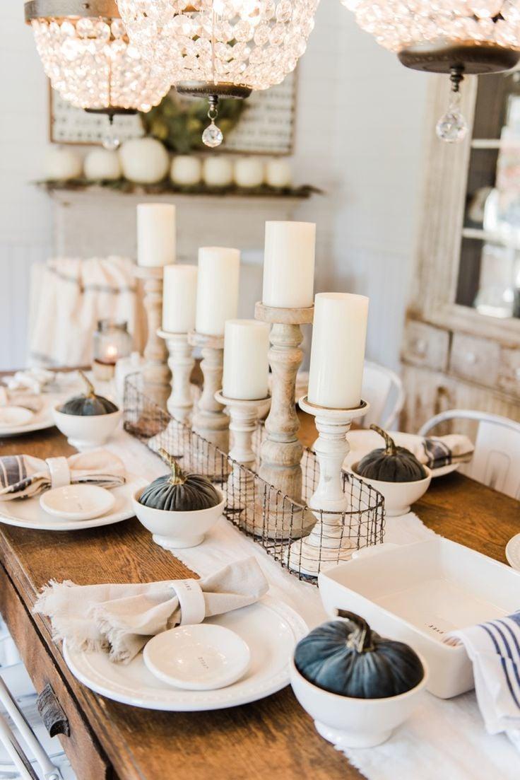 Tischdeko herbst modern  Tischdeko Herbst: 41 Dekoideen - DIY, modern und im ...