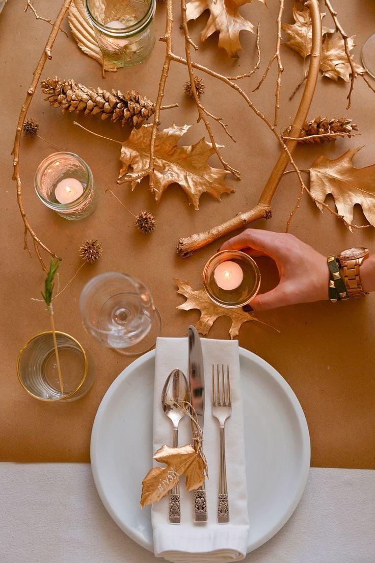 Tischdeko Herbst tischdeko herbst 41 dekoideen diy modern und im skandinavischen