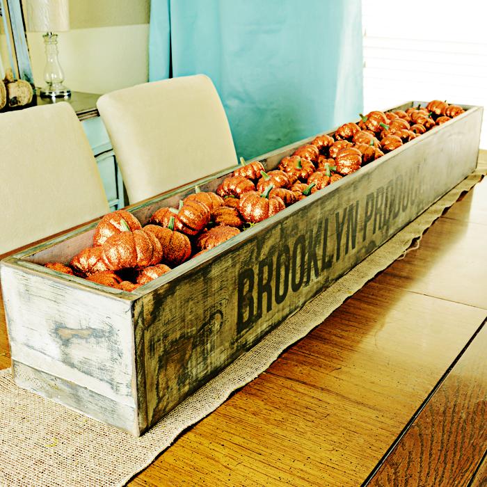 Tisch dekorieren mit Massivholz und Naturmaterialien