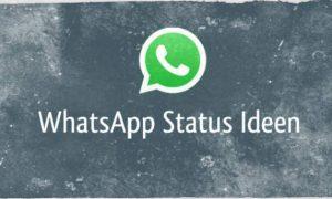 Whatsapp Status Ideen