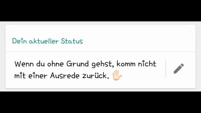 Whatsapp Status lustige Sprüche