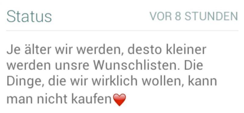 Whatsapp Status traurige Sprüche