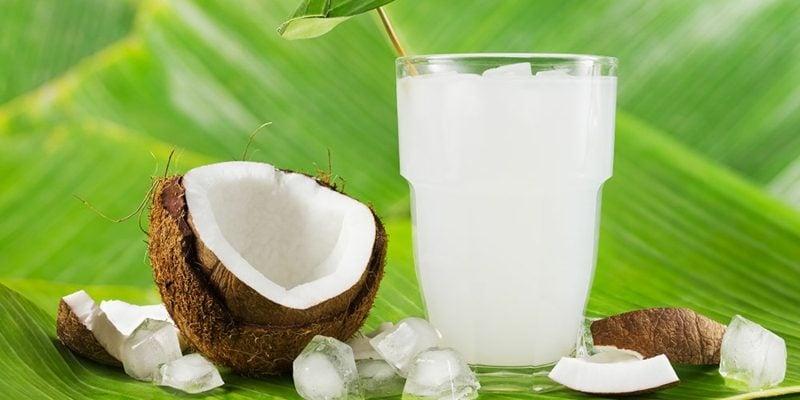 Wasser Eigenschaften Cocosnuss
