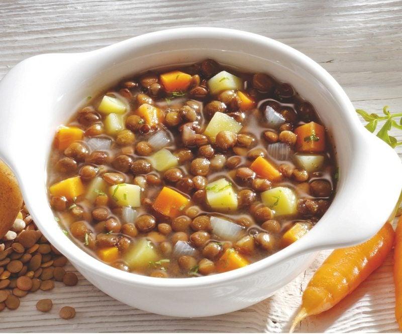 Linsensuppe vegetarisch rezept