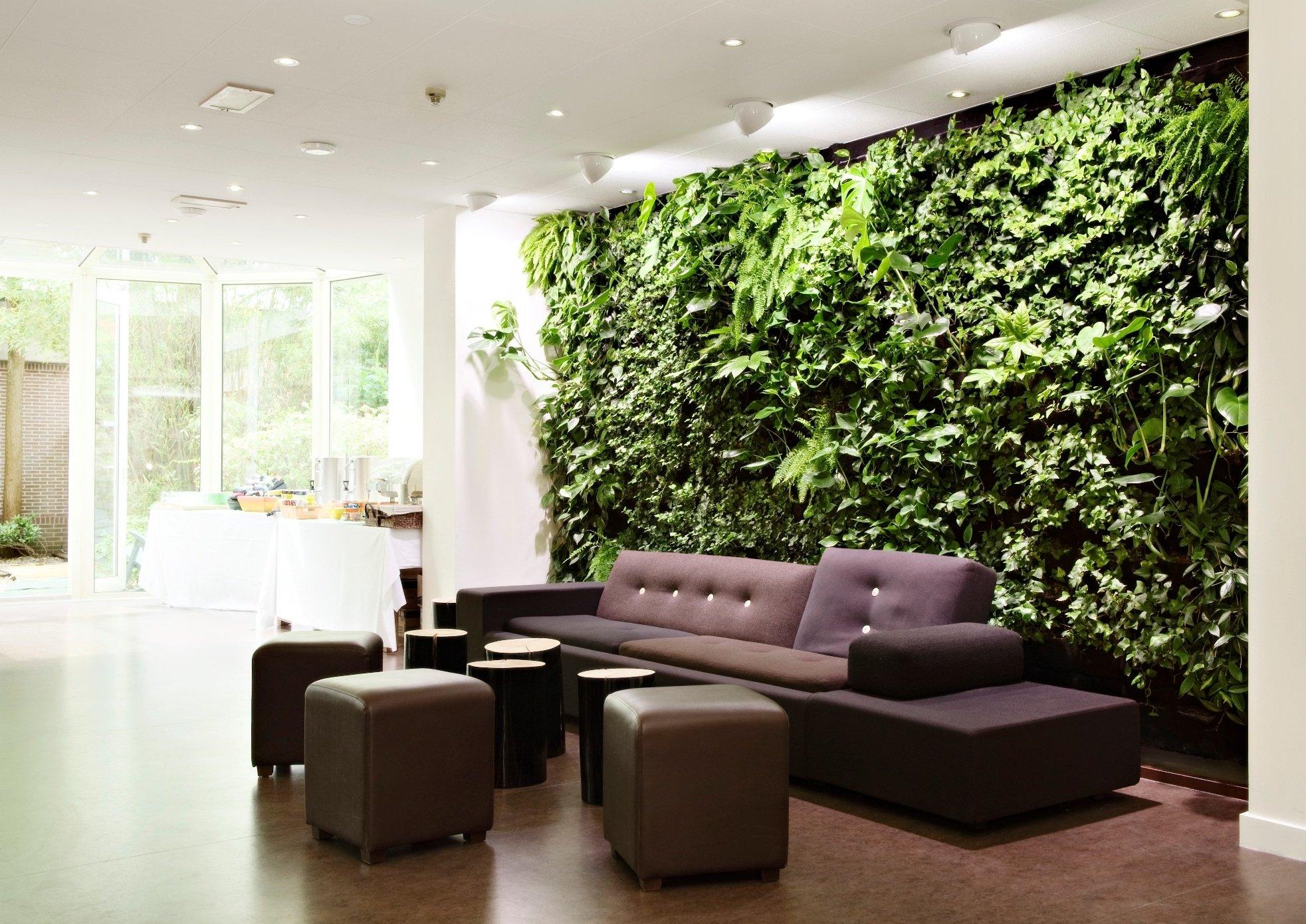 Ein Wand- ein Garten