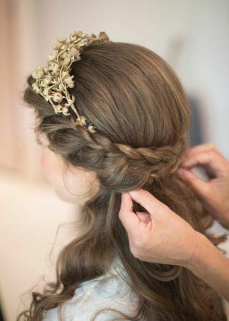 Haarband Frisur falsch geflochten
