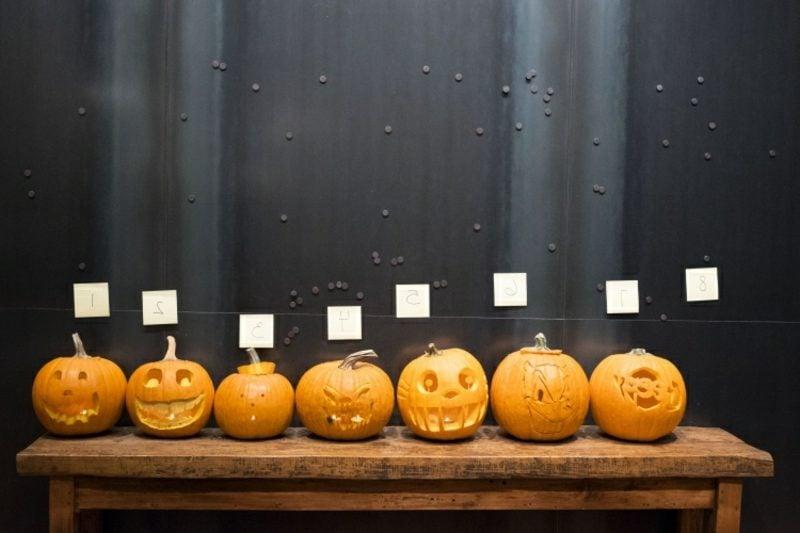 Kürbis Halloween eindrucksvolle Designideen