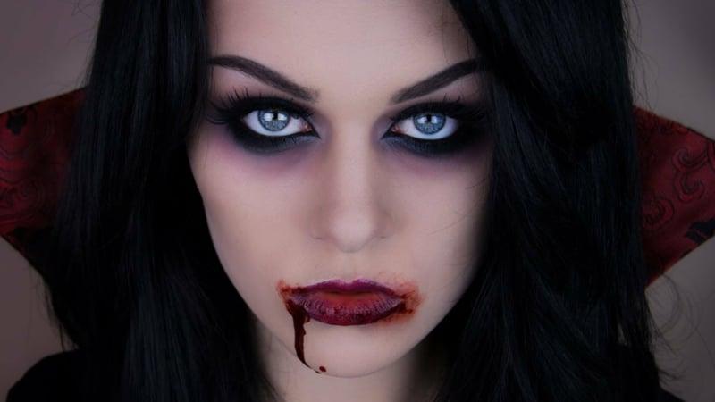 Halloween Kostüm Damen Vampir