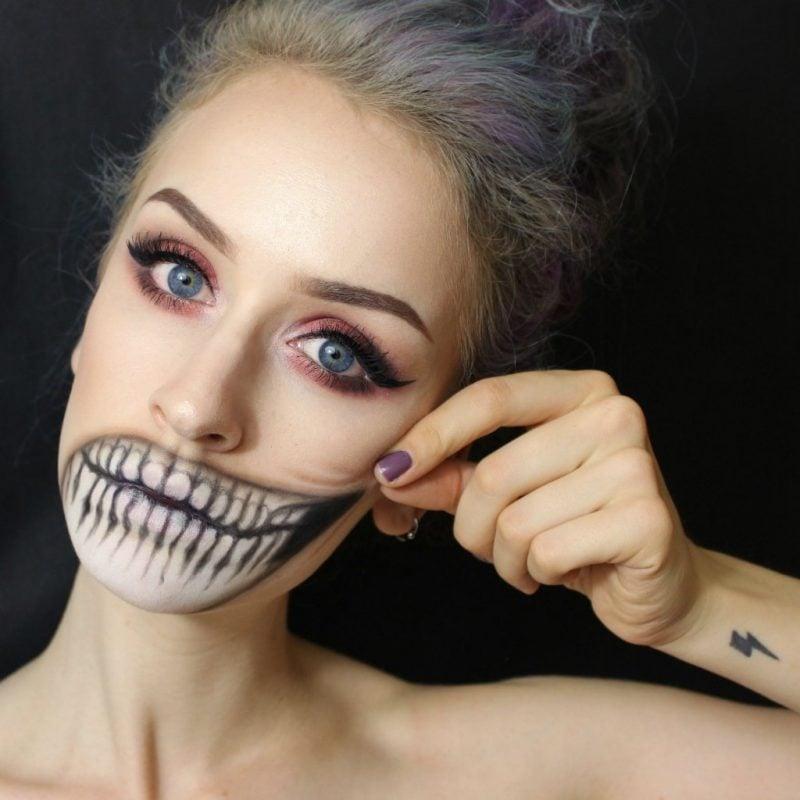 Schminken Zu Halloween attraktive Ideen und Anleitungen