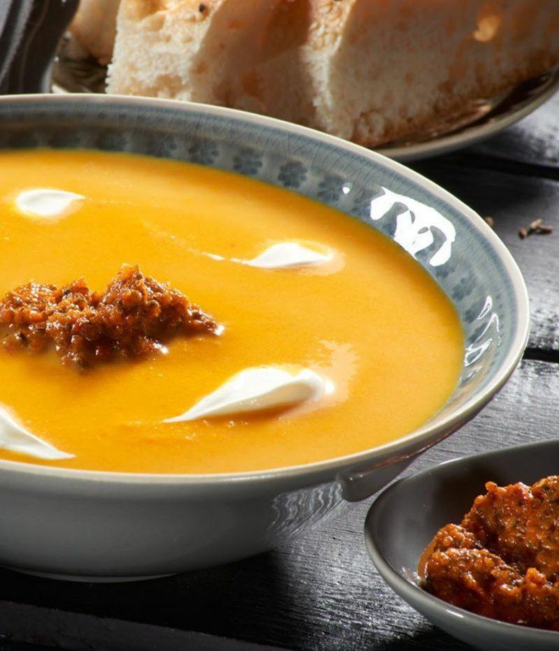 Hokkaido Kürbis Suppe Rezepte Herbst