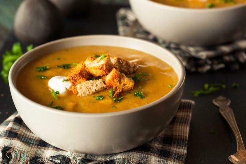 Chefkoch Kürbissuppe mit Kartoffeln Rezept