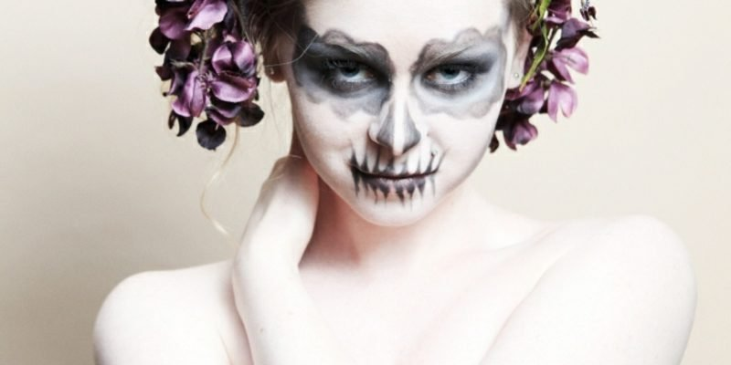Kostüme damen Halloween gruselige Hexe
