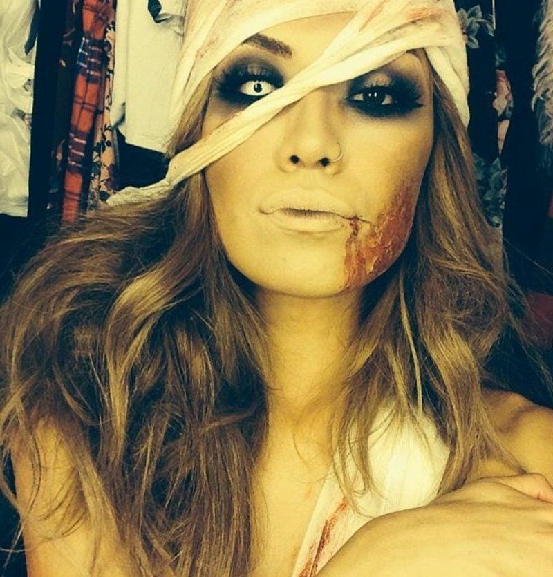 Damen Kostüm Halloween Mumie