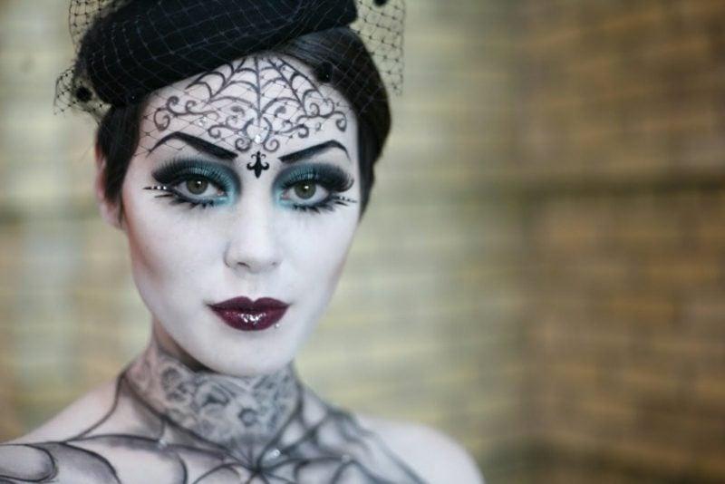 Damen Kostüm elegant Hexe