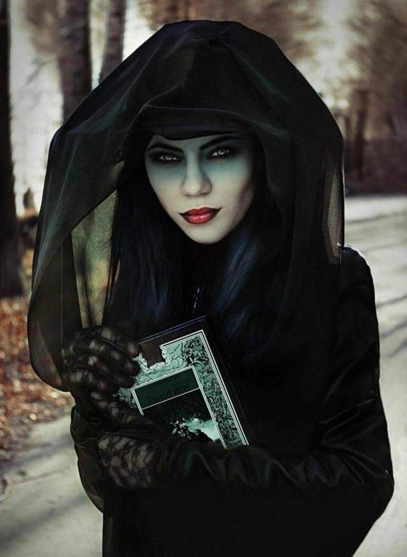 Halloween Kostüm Damen tolle Ideen Hexe