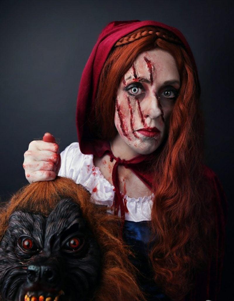 Kostüme Damen schaurig Halloween