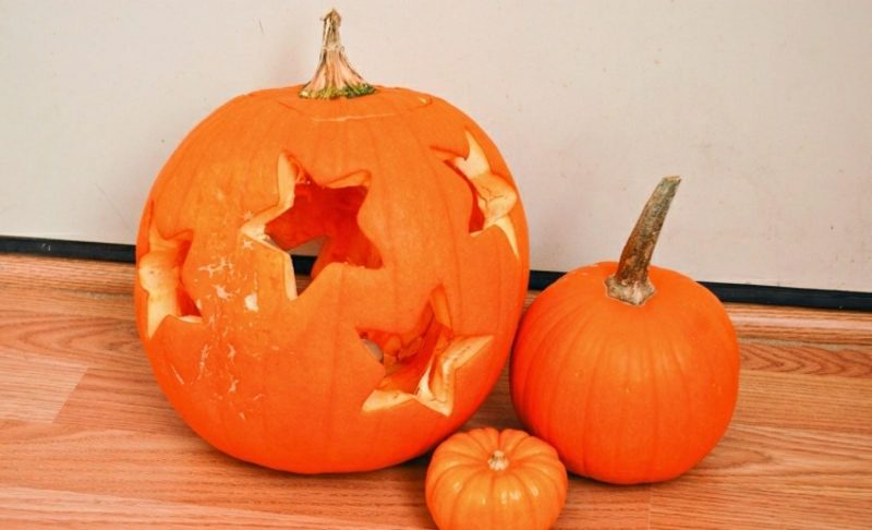 Halloween Kürbis tolle Laterne selber basteln