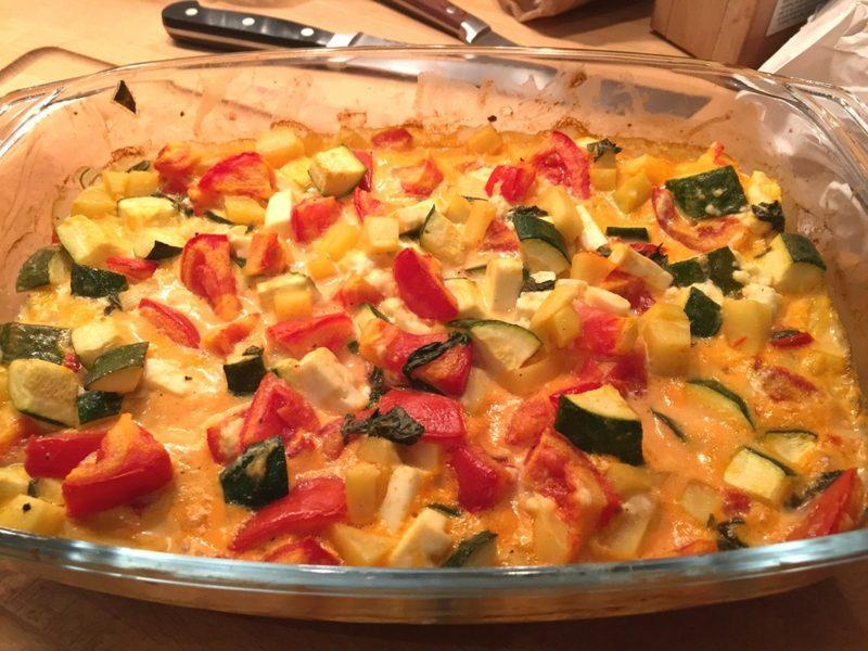Auflauf vegetarisch Rezept