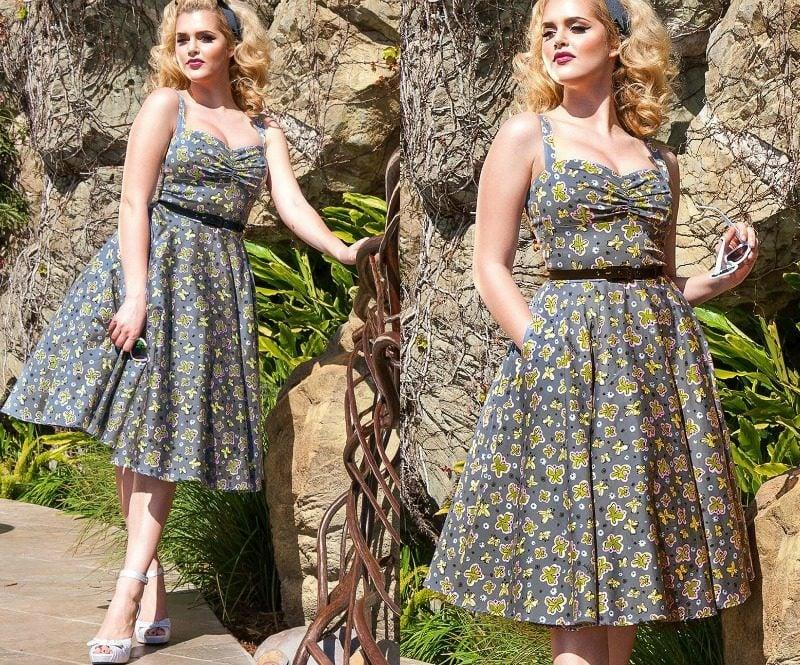 Rockabilly Kleider Sommermode elegant