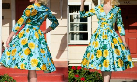Retro Kleider elegante Modelle