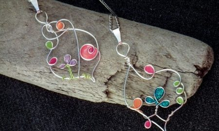 Bastelideen Schmuck Halsketten