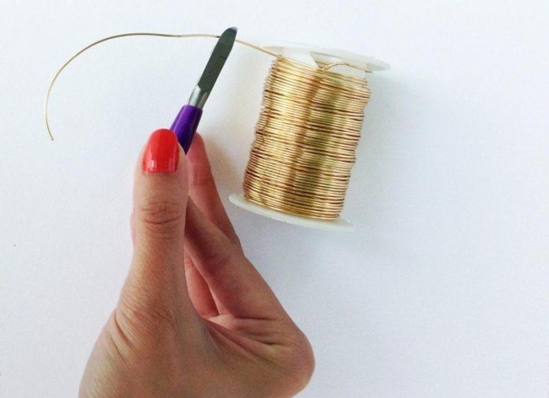 DIY Schmuck aus Draht basteln